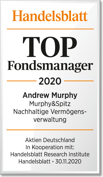 Handelsblatt Siegel TOP Fondsmanager 2020